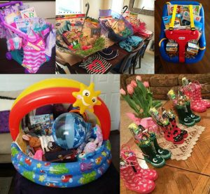 Friday favorites easter edition tana time easter basket ideas so i went to pinterest because duh and there are so many different fun ideas this compilation of baskets range from all ages and negle Images